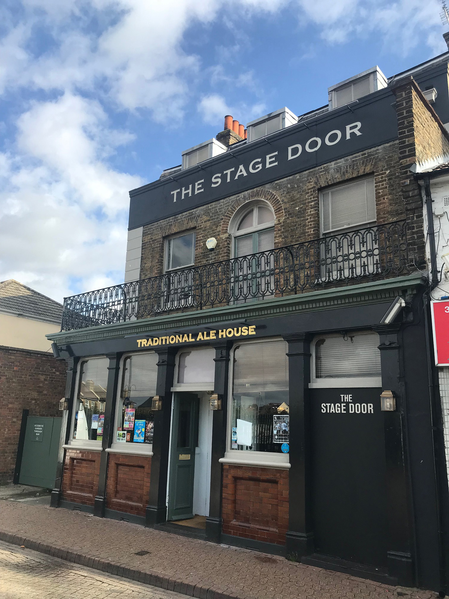 Stage Door, Dartford